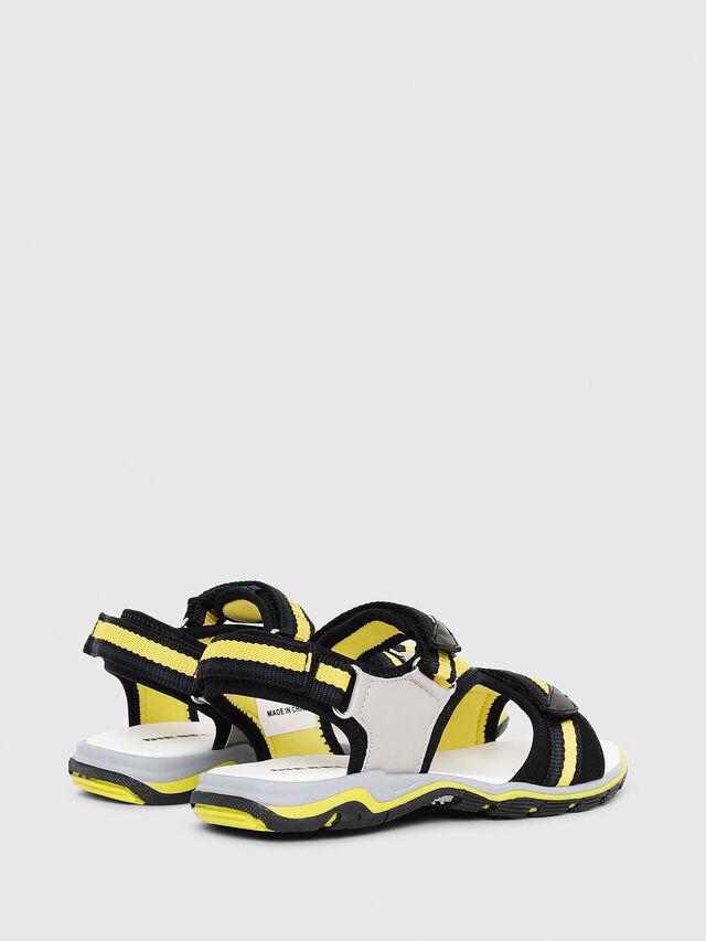Diesel - SA 07 STRIPE YO, Gray/Black - Footwear - Image 3