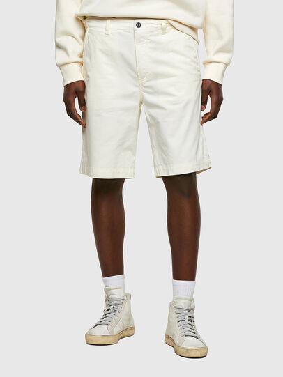 Diesel - P-HATY, White - Shorts - Image 1