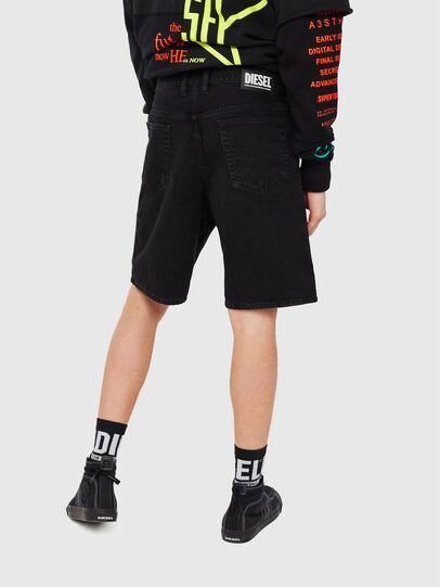 Diesel - D-WILLOH, Black/Dark grey - Shorts - Image 2