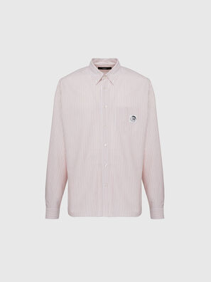 S-JAMES-A, Pink/White - Shirts