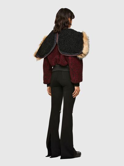 Diesel - W-SAMOEI-A, Black/Red - Winter Jackets - Image 6