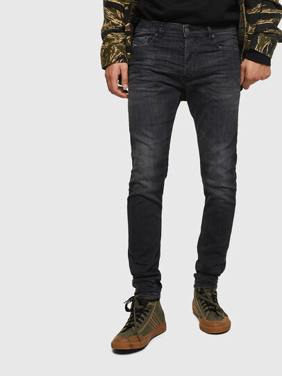 Diesel - Tepphar 082AS, Black/Dark grey - Jeans - Image 1
