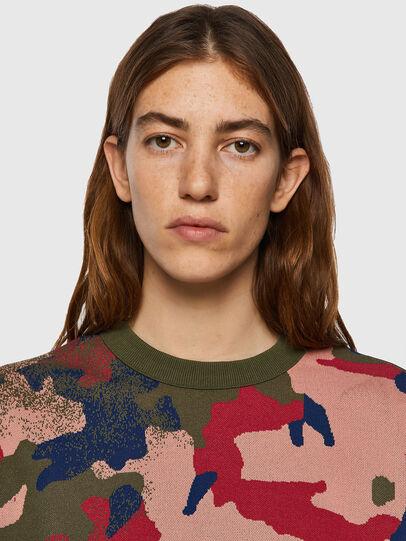 Diesel - M-MONTANA, Green/Pink - Knitwear - Image 3