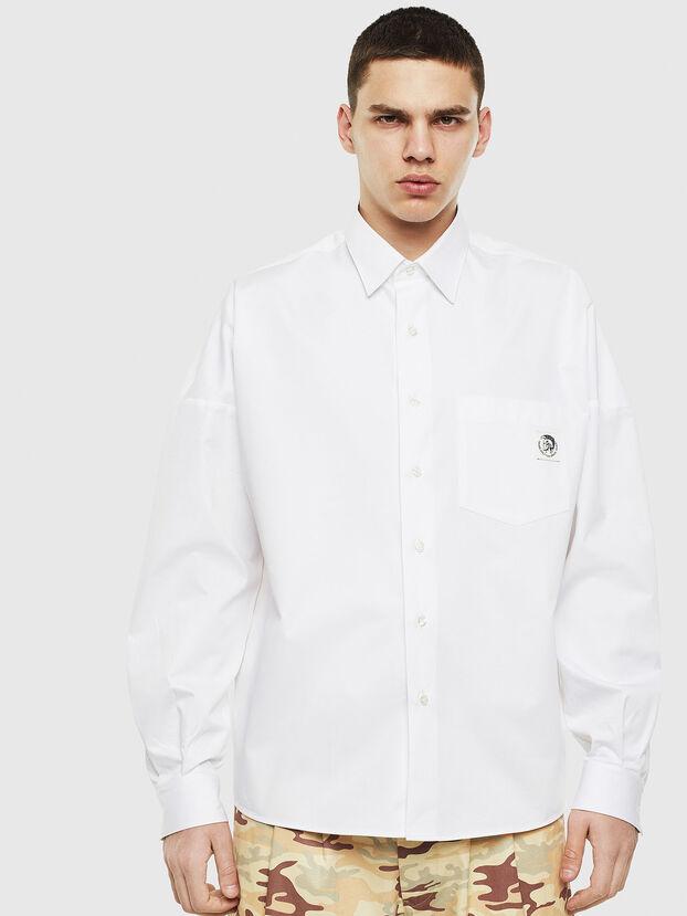 S-LOOMY, White - Shirts