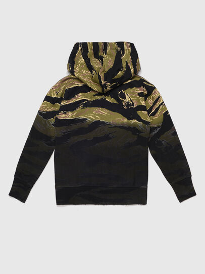 Diesel - SALBYTIGERCAM OVER, Military Green - Sweaters - Image 2