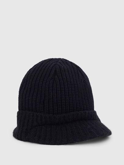Diesel - K-AGO, Black - Knit caps - Image 1