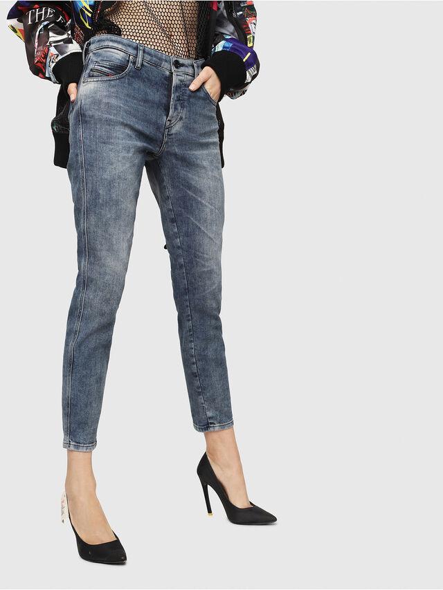 Diesel - Babhila 086AQ, Medium blue - Jeans - Image 1