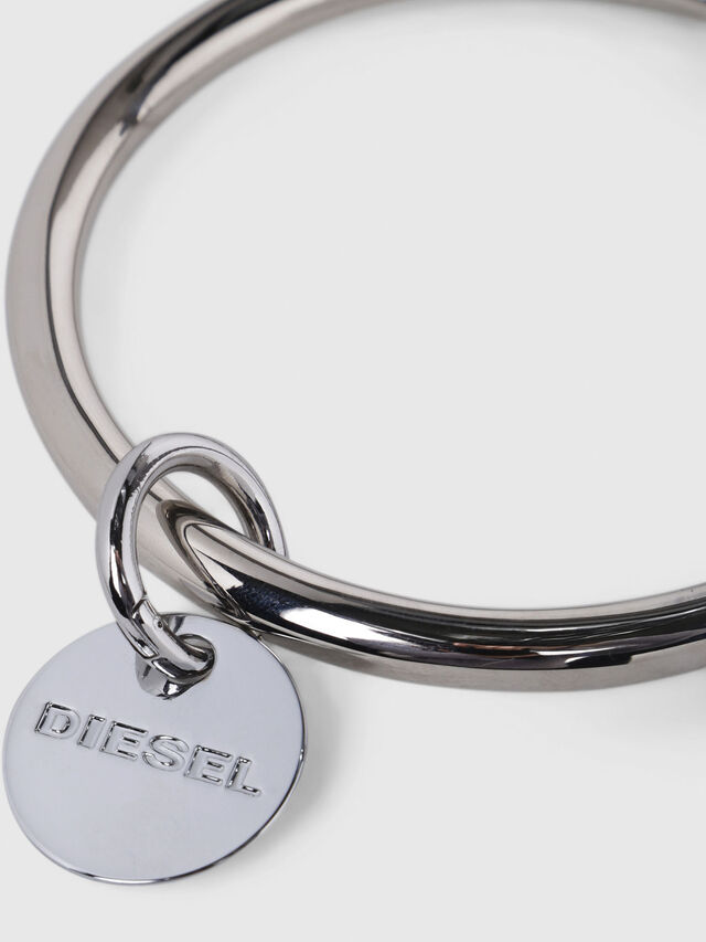 Diesel - CL-METAL BANGLE, Silver - Bijoux and Gadgets - Image 3