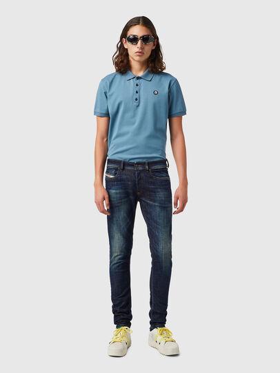 Diesel - Sleenker 09B07, Dark Blue - Jeans - Image 4