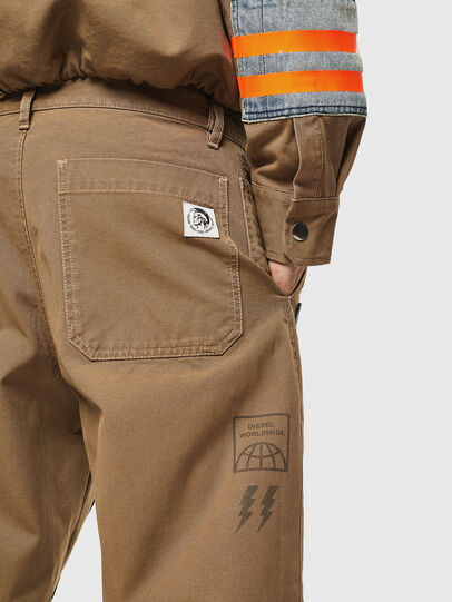 Diesel - P-CARUSO, Light Brown - Pants - Image 5