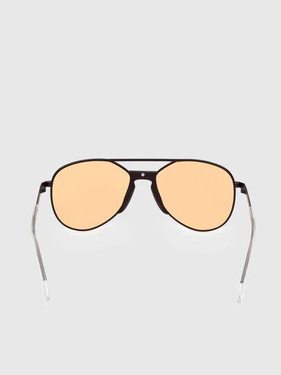 Diesel - DL0339, Black/Yellow - Sunglasses - Image 4