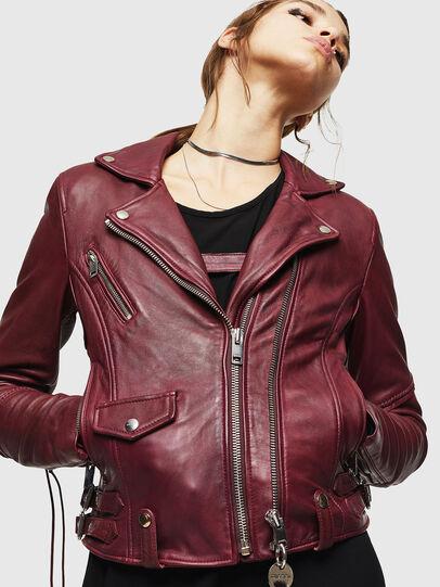 Diesel - L-SINYA-A,  - Leather jackets - Image 4