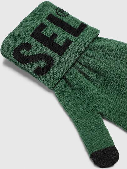 Diesel - K-SCREEX-B, Dark Green - Gloves - Image 2