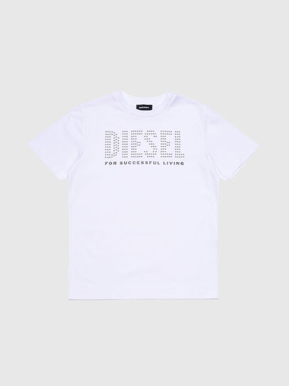 Diesel - TABEL, White - T-shirts and Tops - Image 1
