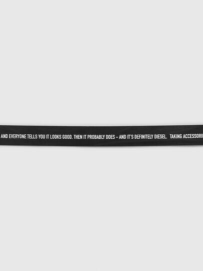 Diesel - B-CRESPINO, Black - Belts - Image 3