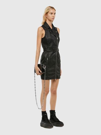 Diesel - D-ACICO JOGGJEANS, Black - Dresses - Image 5