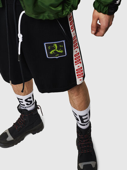 Diesel - K-ROB, Black - Shorts - Image 4