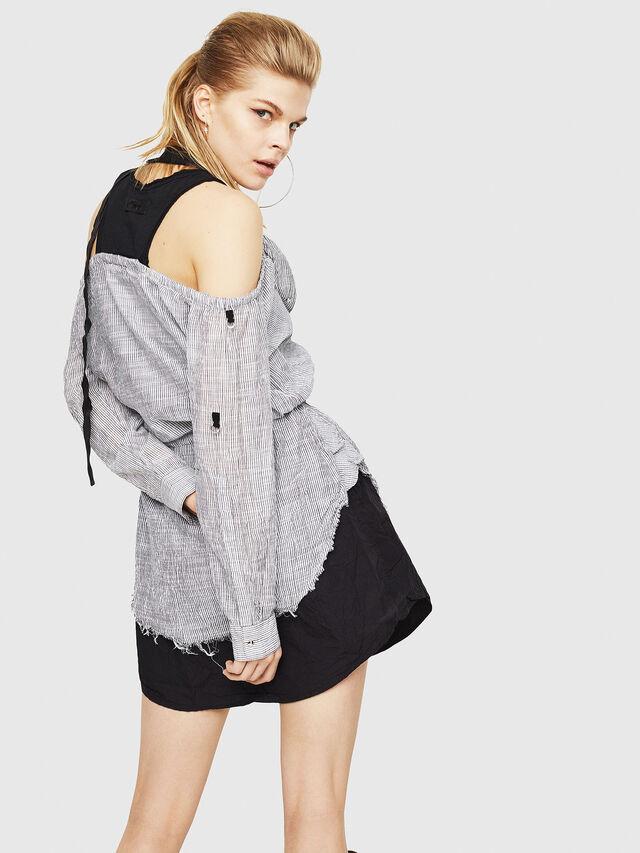 Diesel - D-JUDY, Black/Grey - Dresses - Image 2