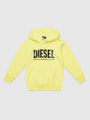 SDIVISION-LOGO OVER, Yellow - Sweaters