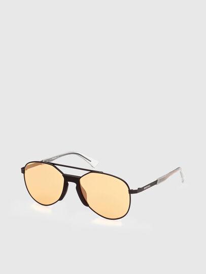 Diesel - DL0339, Black/Yellow - Sunglasses - Image 2