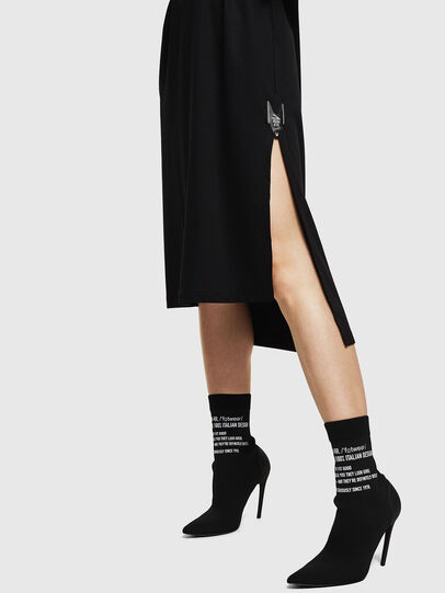 Diesel - D-FELIX-LONG, Black - Dresses - Image 5