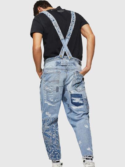 Diesel - D-HARU-SY, Blue Jeans - Jumpsuits - Image 2