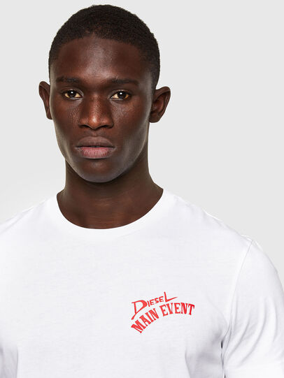 Diesel - T-DIEGOS-K15, White - T-Shirts - Image 3