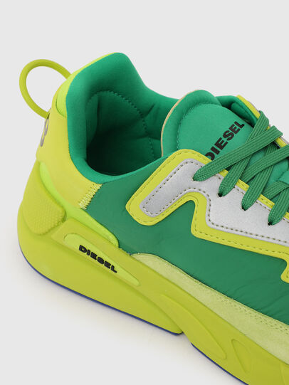 Diesel - S-SERENDIPITY LC, Yellow/Green - Sneakers - Image 4