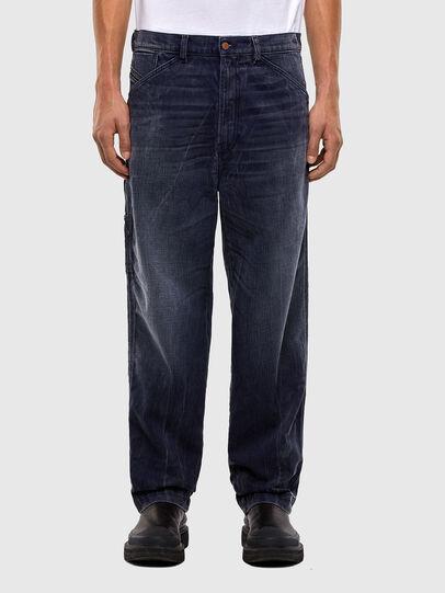 Diesel - D-Franky 009IY, Dark Blue - Jeans - Image 1
