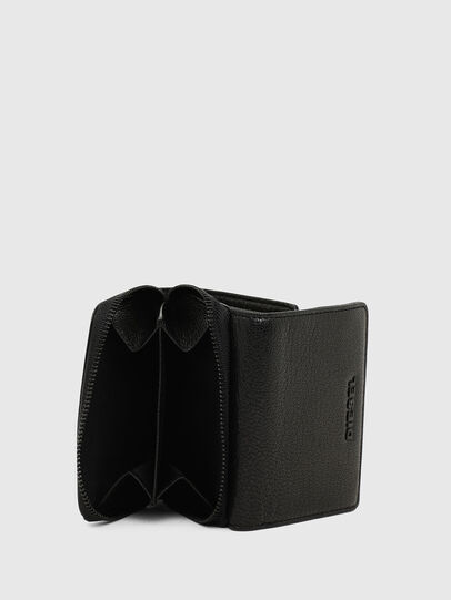 Diesel - SPEJAP, Black/Green - Small Wallets - Image 4