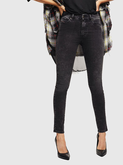 Diesel - D-Roisin 069FW, Black/Dark grey - Jeans - Image 1