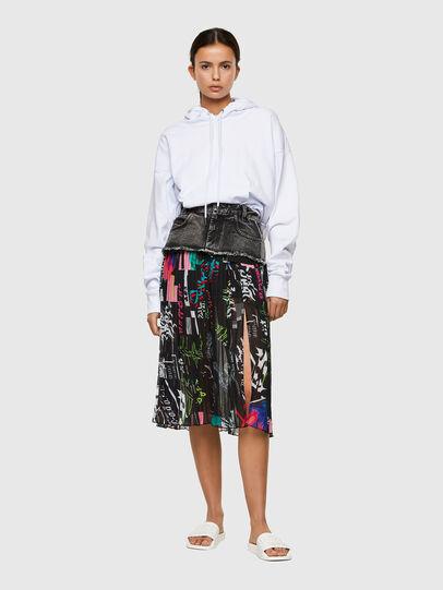 Diesel - O-ZOWIE-PRINT, Black - Skirts - Image 5