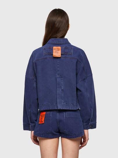Diesel - DE-JALYN, Blue - Denim Jackets - Image 2