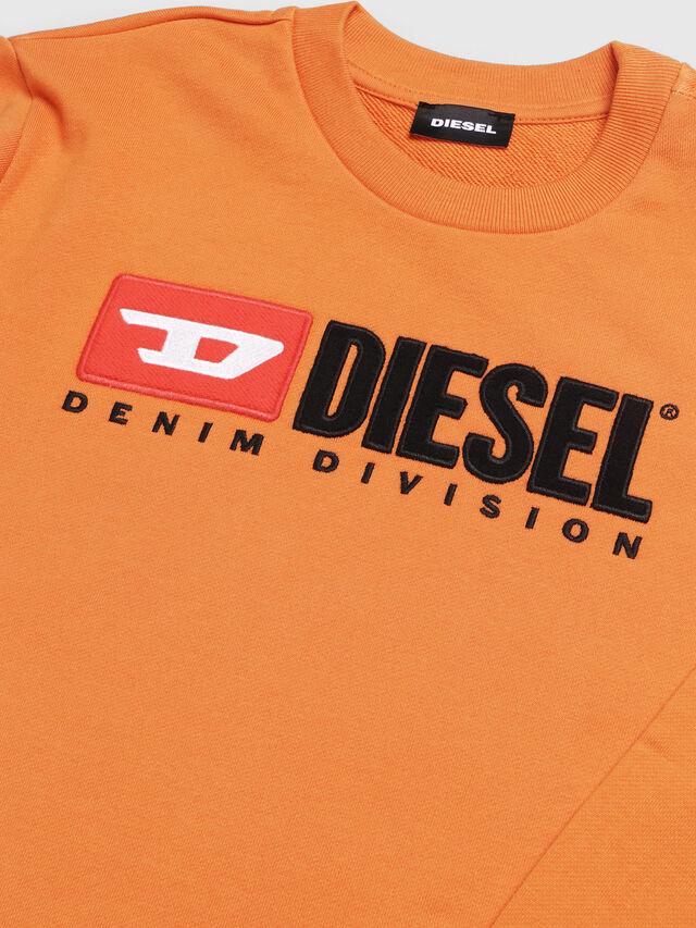 Diesel - SCREWDIVISION OVER, Orange - Sweaters - Image 3
