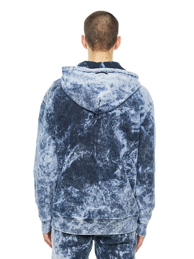 Diesel - FYOVER, Blue/White - Sweaters - Image 2