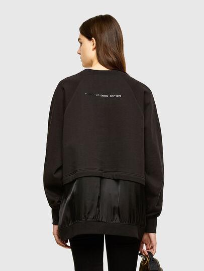 Diesel - F-MIX, Black - Sweaters - Image 2