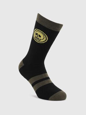 SKM-RAY, Black/Green - Socks