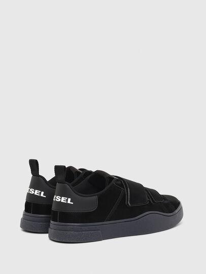 Diesel - S-CLEVER LOW STRAP W, Black - Sneakers - Image 3