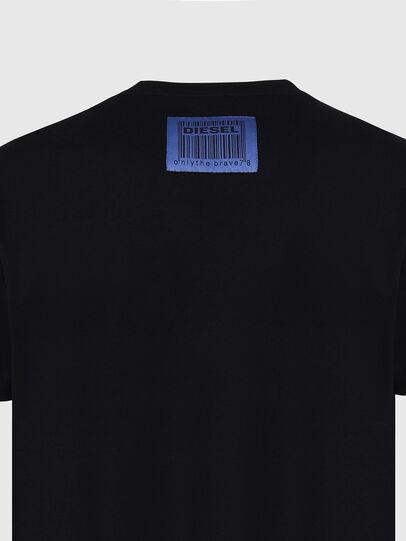 Diesel - T-DIEGOS-X70, Black - T-Shirts - Image 4