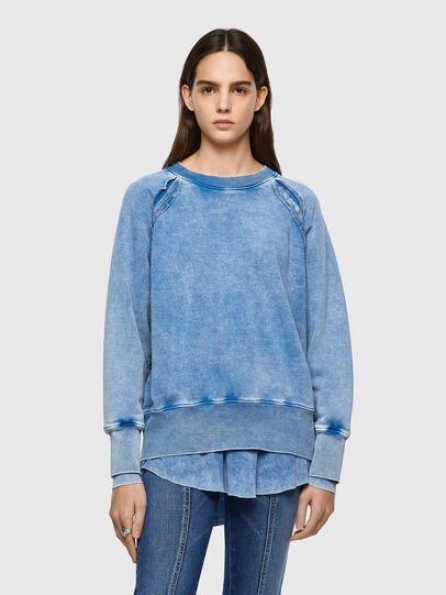 Diesel - F-ROXXY-B1, Blue - Sweaters - Image 1