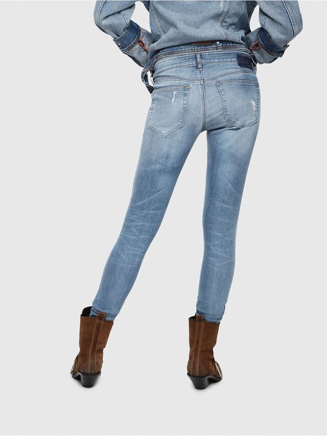 Diesel - Slandy Low 086AH, Light Blue - Jeans - Image 2