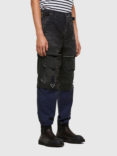 Diesel - D-Multy 009KX, Black/Blue - Jeans - Image 7