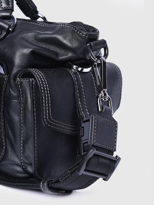 Diesel - MISS-MATCH SATCHEL M, Black - Satchels and Handbags - Image 4