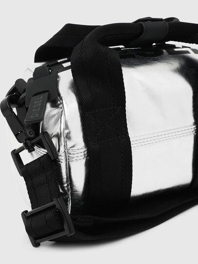 Diesel - F-BOLD MINI, Silver - Satchels and Handbags - Image 4