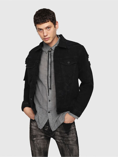 Diesel - D-HILL,  - Denim Jackets - Image 1
