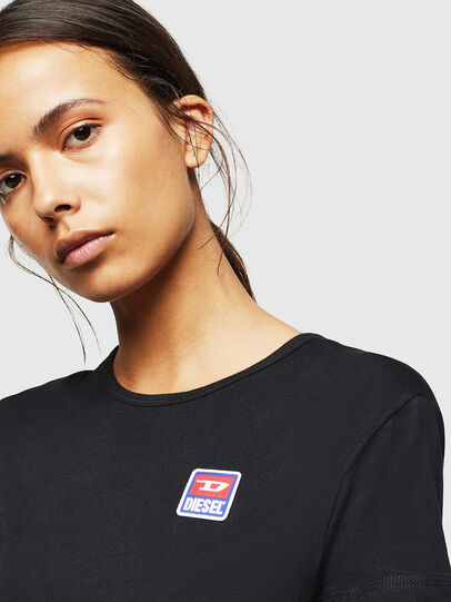 Diesel - UFLT-ISOLLA, Black - T-Shirts - Image 3