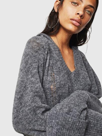 Diesel - M-NOELIA, Grey - Knitwear - Image 3