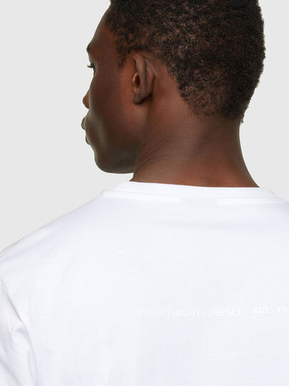 Diesel - T-JUST-A34, White - T-Shirts - Image 4