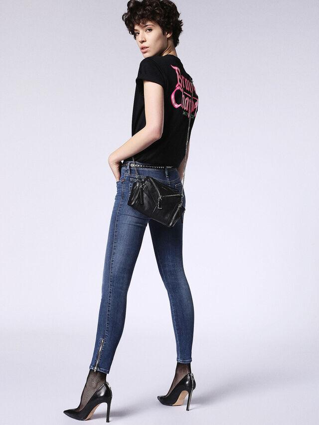 SKINZEE-ZIP 0687Q, Blue jeans