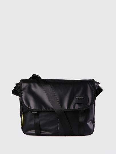 Diesel - F-DISCOVER MESSENGER, Black - Crossbody Bags - Image 1